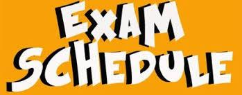 Image result for exam bell schedule