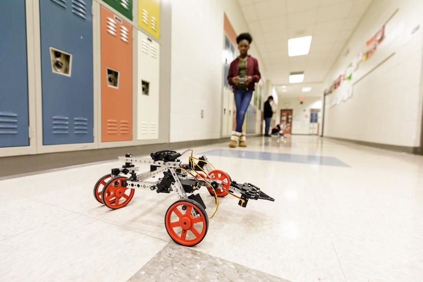 Reedy Creek Magnet Middle robot