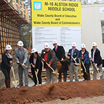 Wake County leaders break ground for new school