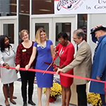 Apex Friendship MS ribbon cutting