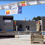 Brooks topping ceremony