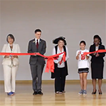 Bryan Road ES ribbon cutting