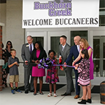 Buckhorn Creek ES ribbon cutting