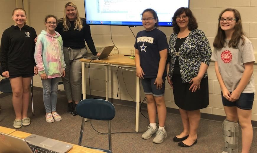 Reedy Creek Middle Girls Who Code
