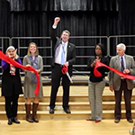 Pleasant Grove ribbon cutting