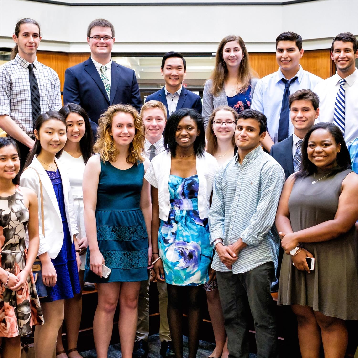 Class of 2017 Valedictorians honored at May 2 Board of Education meeting