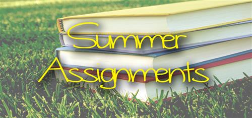 Image result for summer assignments