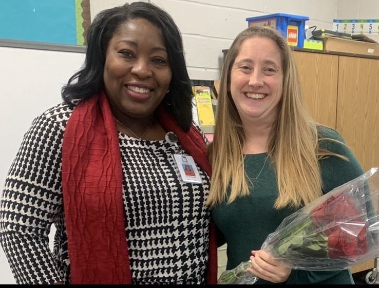 Mrs. Kaitlin Vacca - WFE Teacher of the Year