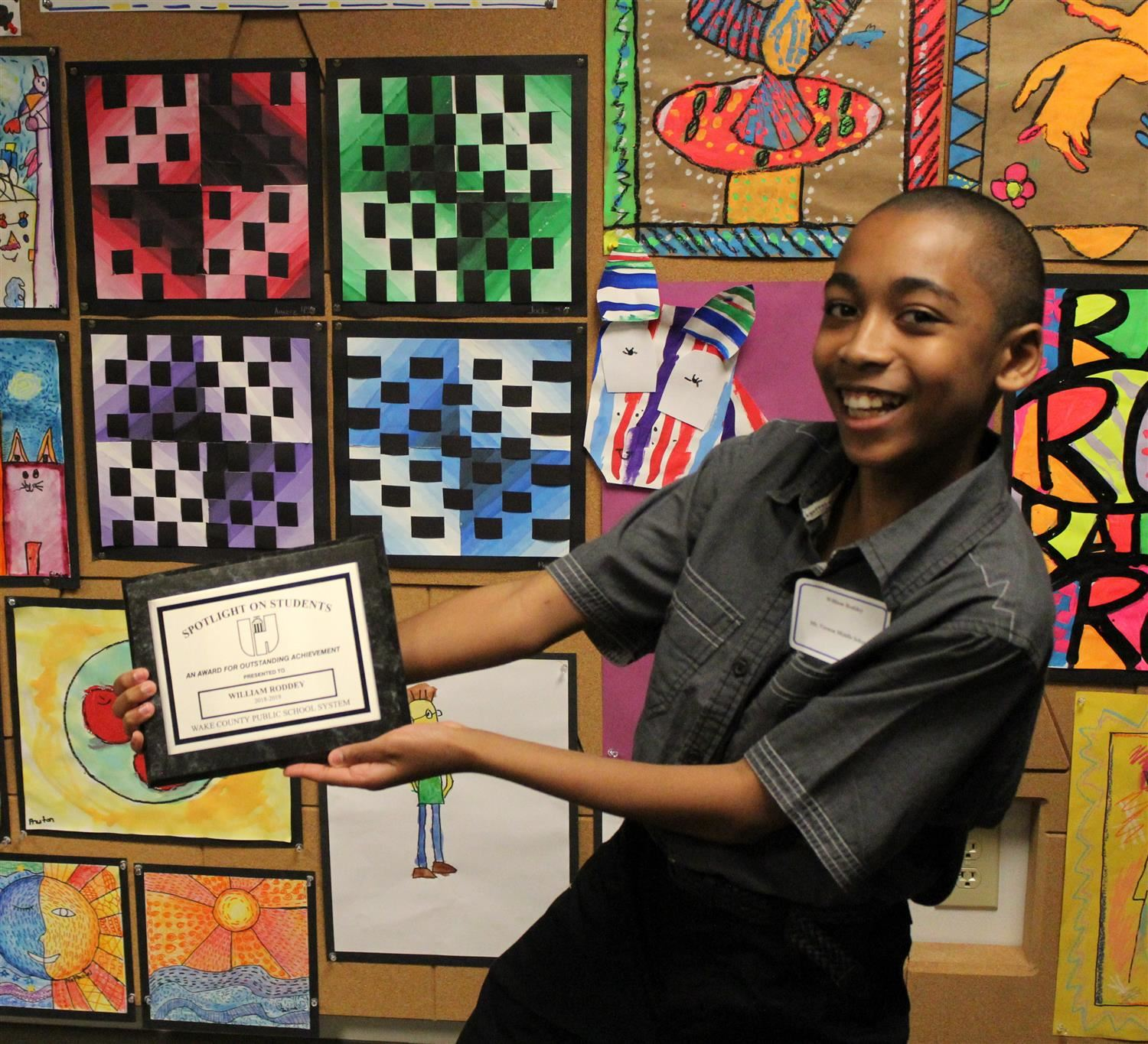 Mt. Vernon 7th Grader Earns Spotlight on Students Recognition