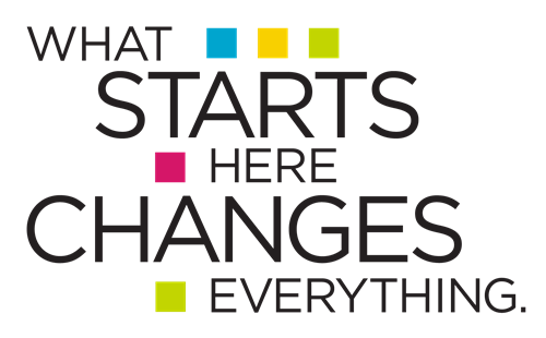 image of what starts here changes everything logo