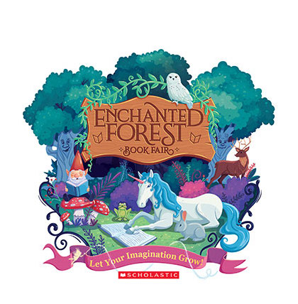 This year's Book Fair will be ENCHANTED!