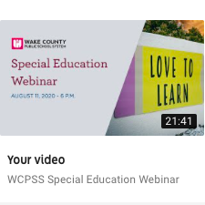 Watch Webinar on 2020-21 School Year