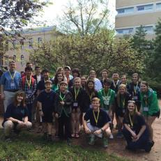 LRHS Latin Students at UNC-Chapel Hill