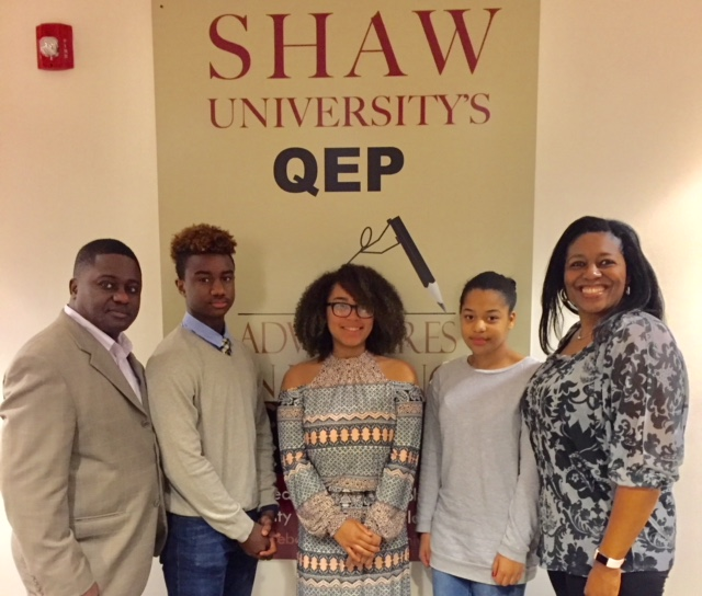 HMS CTE Students compete at the African American Awareness Competition at Shaw University