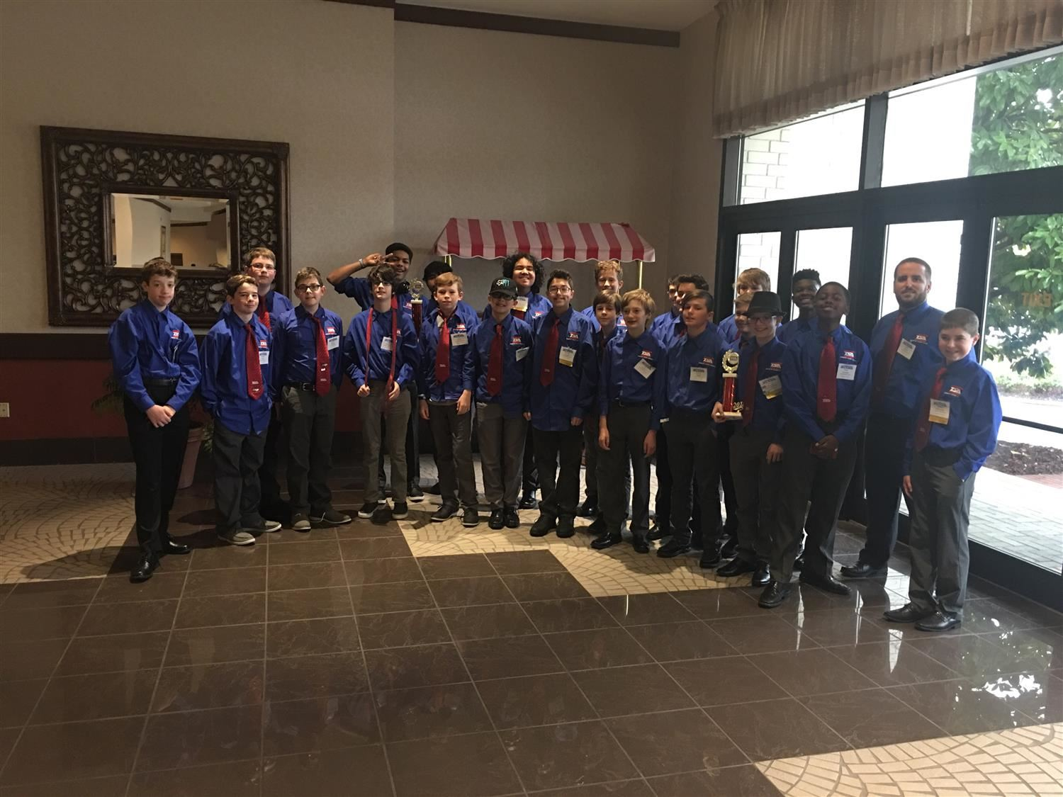 TSA Wins at State Conference