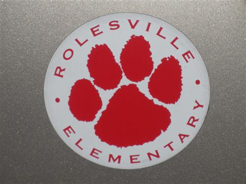 Rolesville Elementary Car Magnet