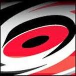 This is the logo of the Carolina Hurricanes professional hockey team.