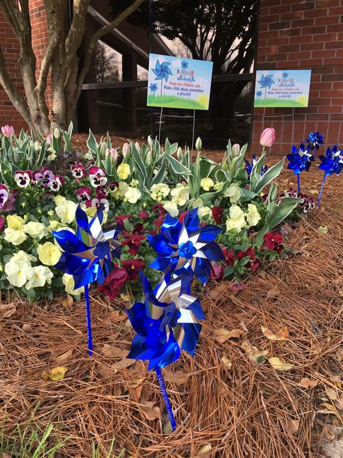 Child Abuse Prevention Pinwheels