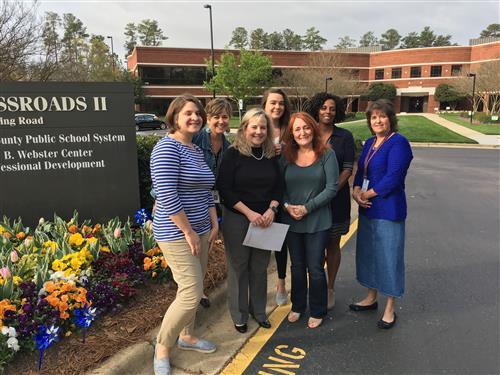 Members of WCPSS Social Work Department