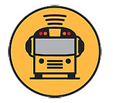 Logo for Here Comes the Bus