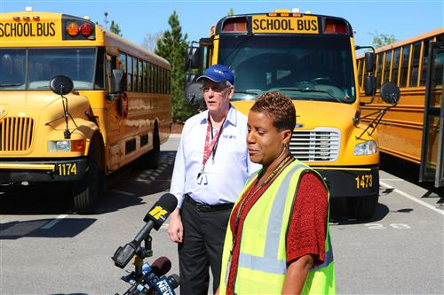 Bus driver says cameras will keep students safe