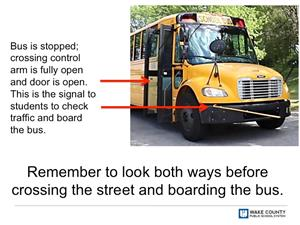 New bus boarding process