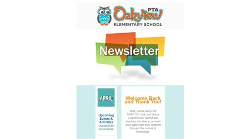 April 2020 PTA Newsletter