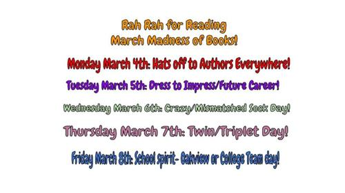 Rah Rah Reading Week