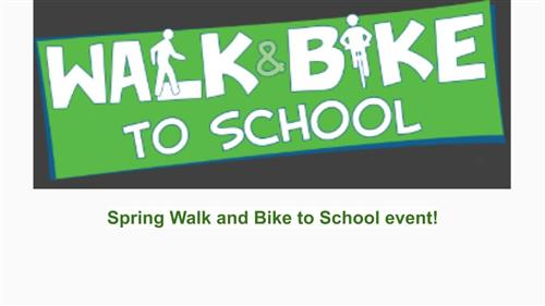 Walk to School May 15