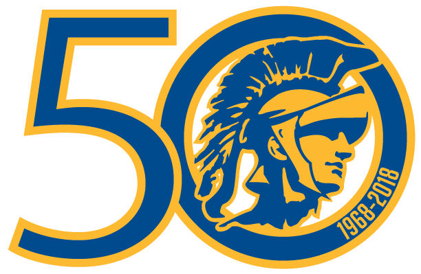 50th Logo: Light Background