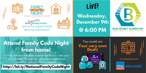Join us for Family Code Night!