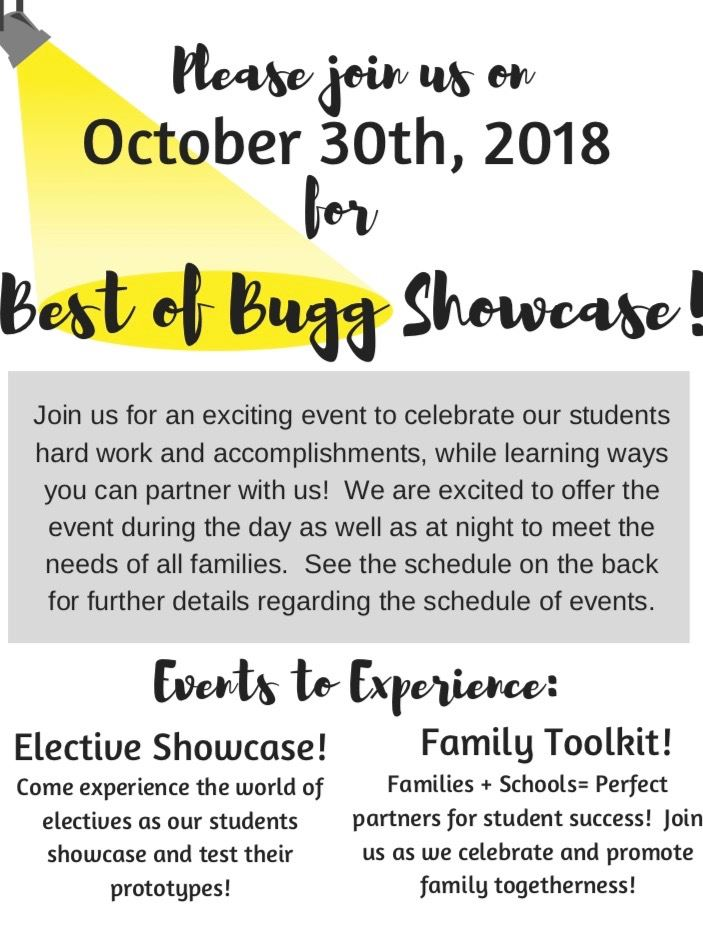 Electives Showcase is next week!