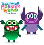 Monsters from Teach Your Monster to Reading First Steps