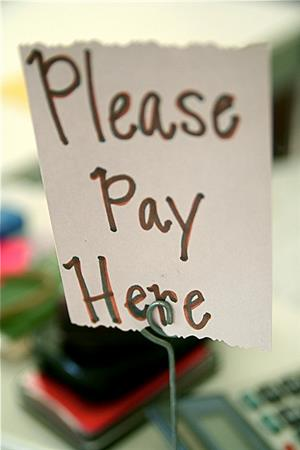 Please Pay Here image