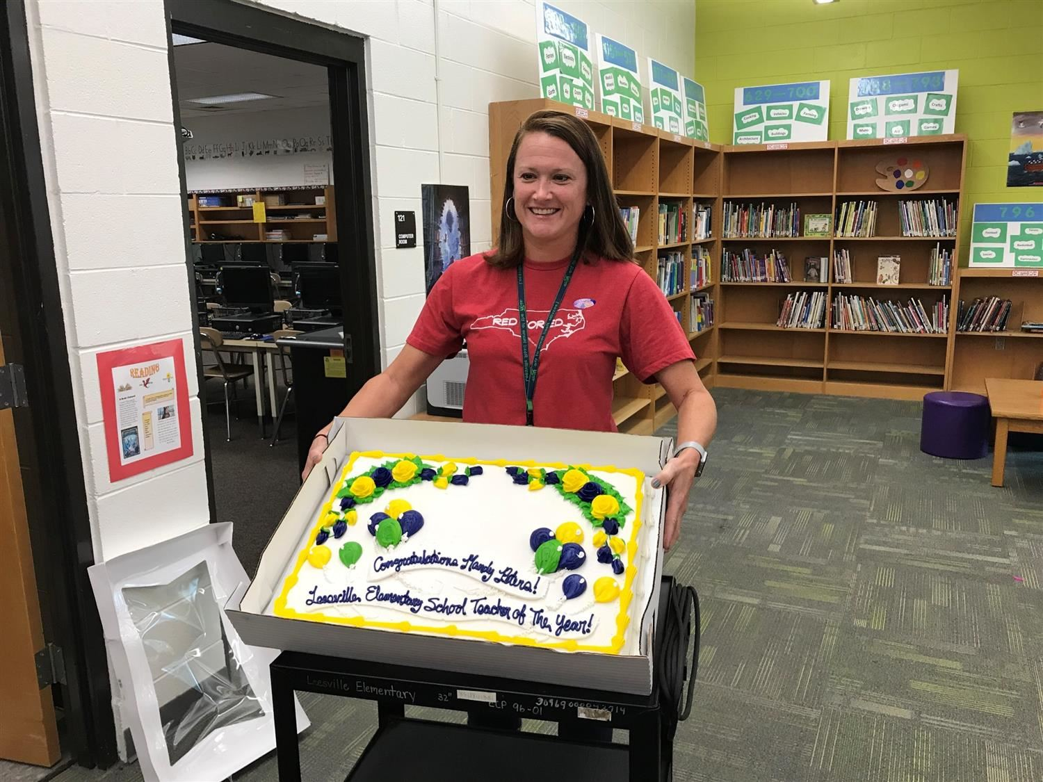 Mrs. Peters, Teacher of the Year 2018-2019