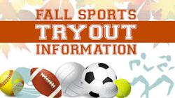 Fall Sports Tryouts