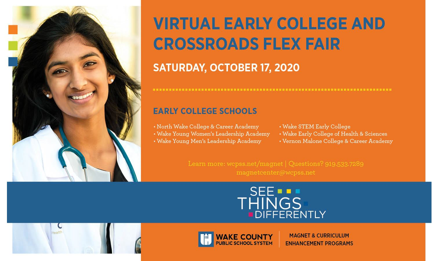 Virtual EARLY COLLEGE AND CROSSROADS FLEX FAIR