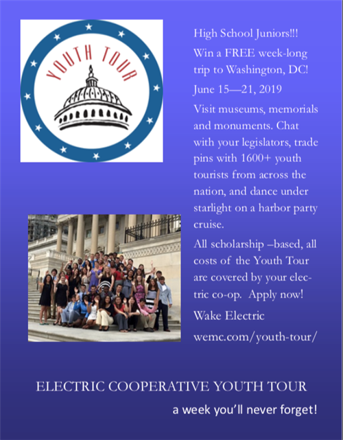 Wake Electric Youth Tour