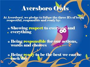 Aversboro Owls Code of Conduct Poster