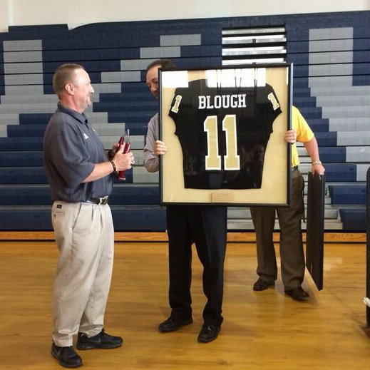 Coach Blough Retires