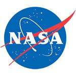 NASA Kids Blue planet with NASA written across the front Logo Link