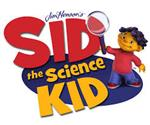Jim Hansen's Sid The Science kid words link with Sid using a magnifying glass