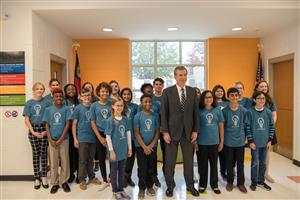 Governor Cooper & Student Ambassadors