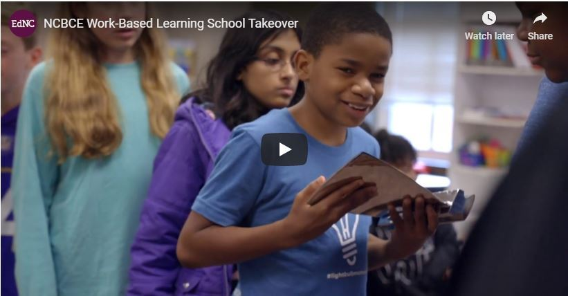 Moore Square featured in EdNC video on Work-Based Learning