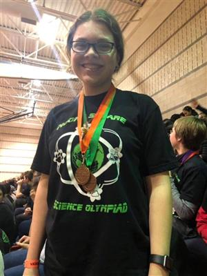 Science Olympiad Student