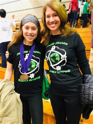 Science Olympiad Student & parent