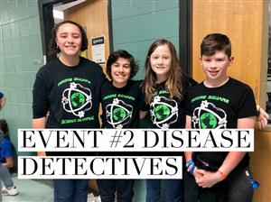 Science Olympiad Disease Detective Team