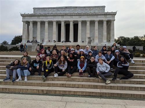 2020 8th Grade Field Trip to Washington, DC