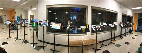 Reflections Contest on Display