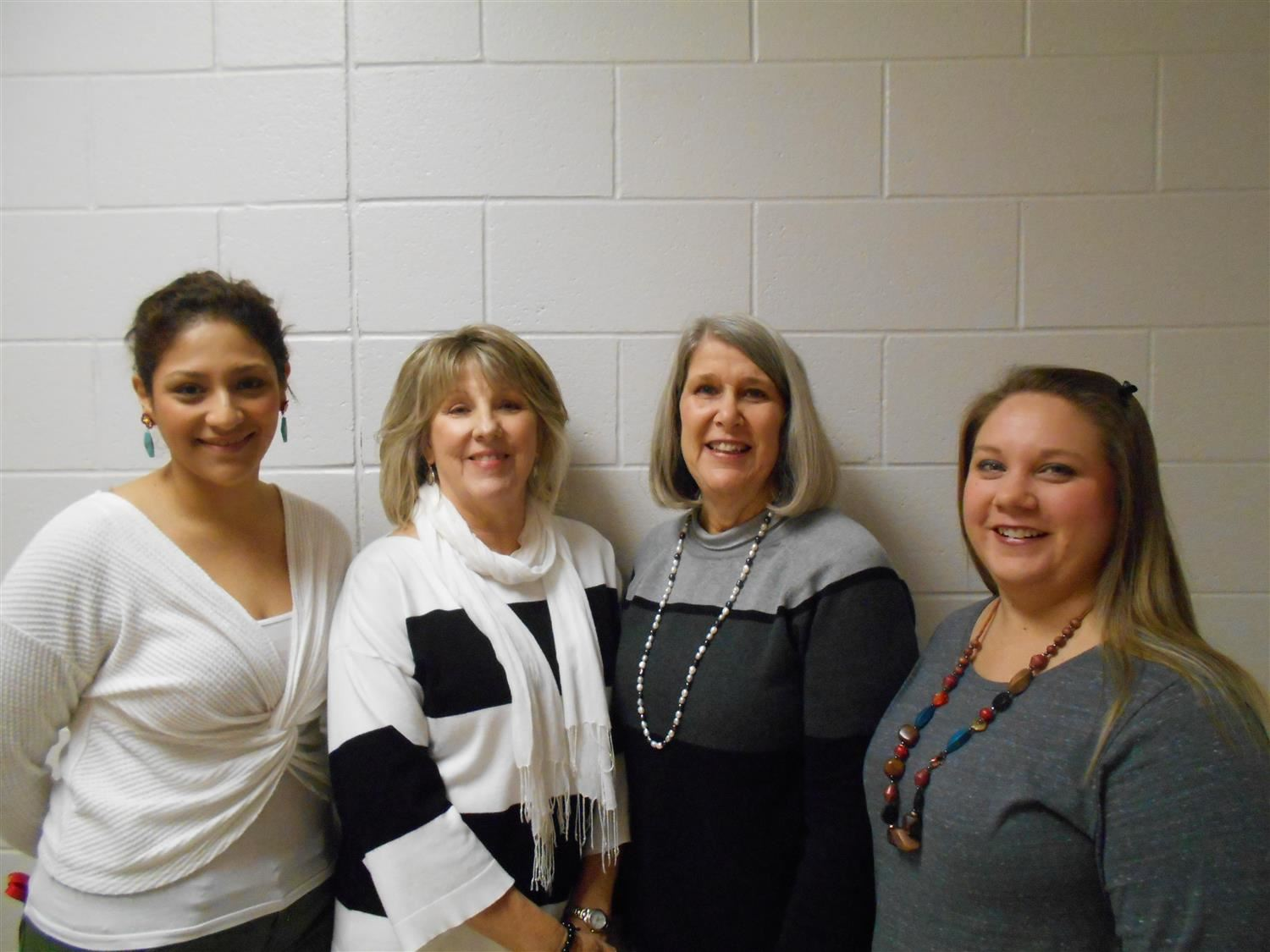 Kindergarten Instructional Assistants - Ms. Lujan, Mrs. Lambert, Mrs, Bennett, and Mrs. Privette